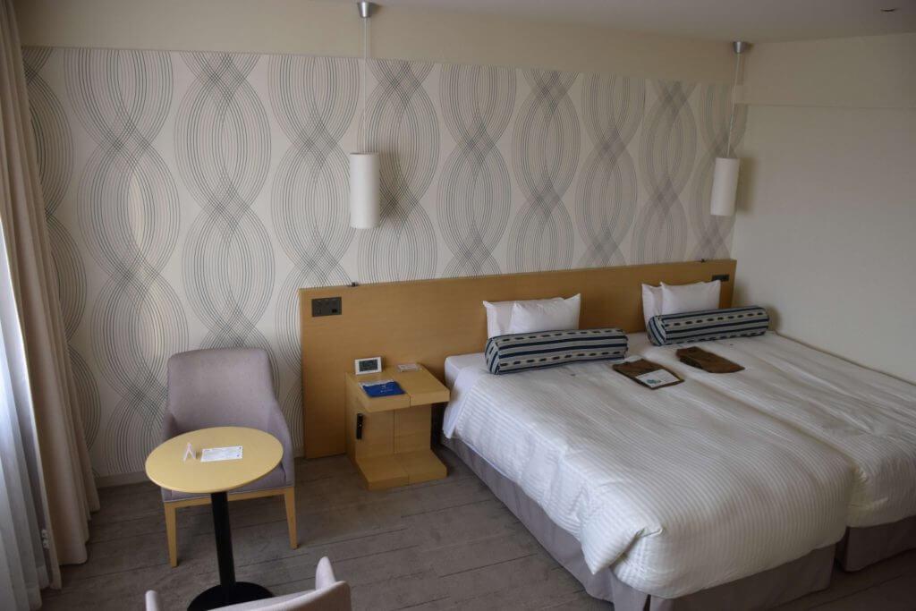 アートホテル部屋風景
