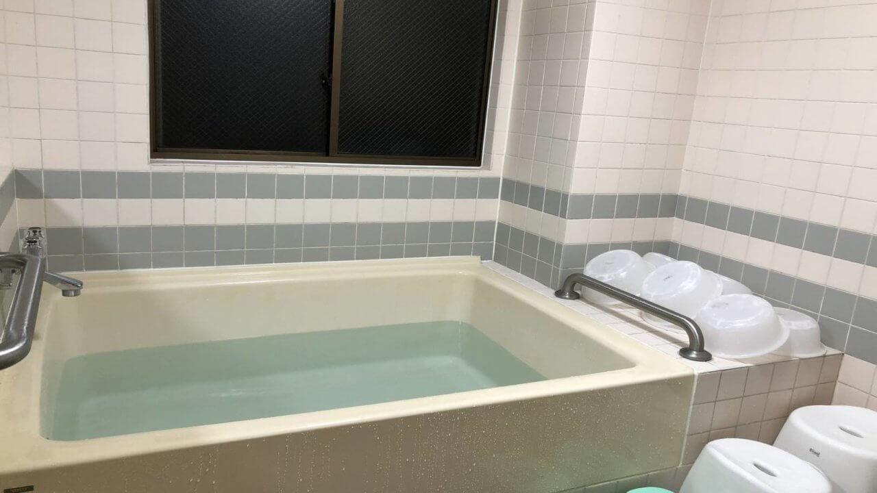 ホテルセンチュリー宮崎浴室風景