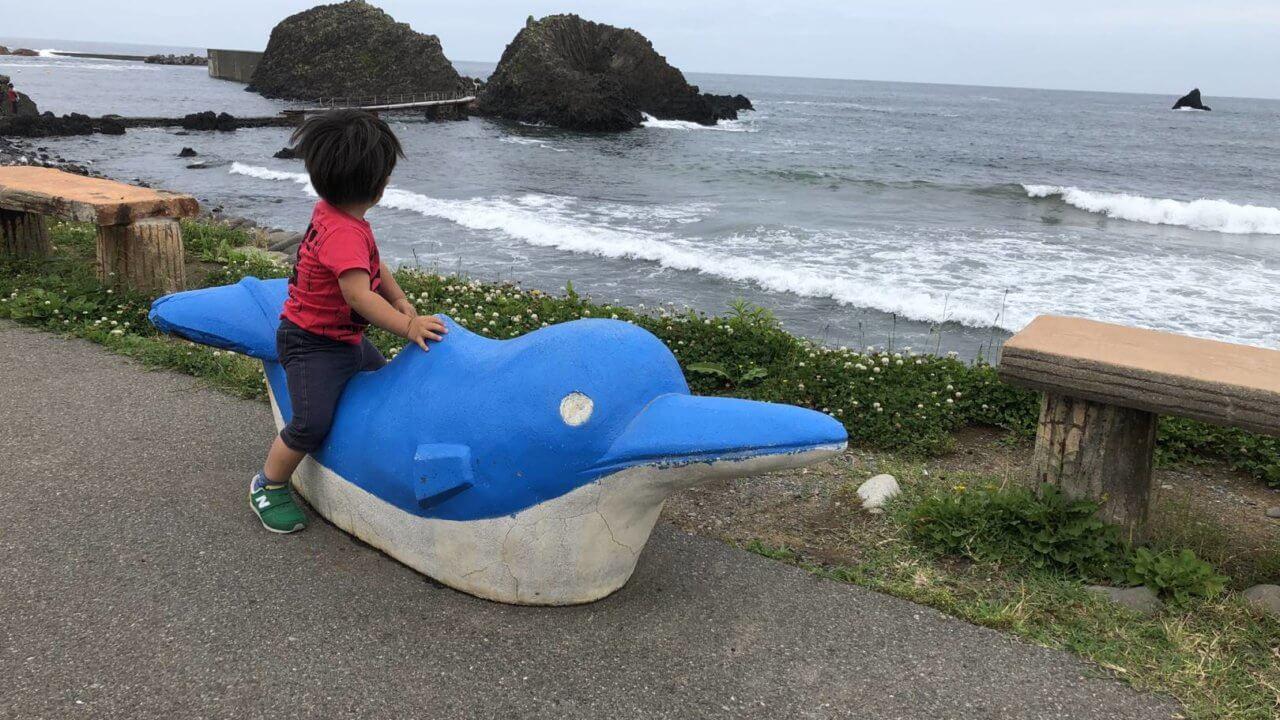 越前松島水族館のオブジェ?