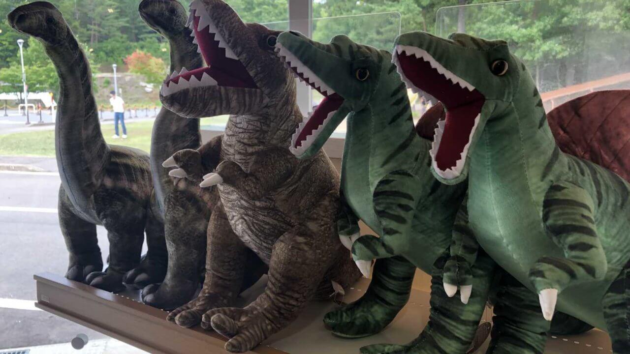 福井県立恐竜博物館お土産の恐竜
